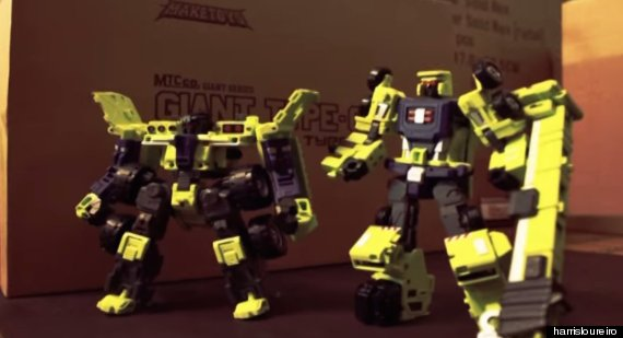 transformers stop motion