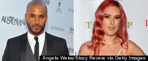Ricky Whittle Rumer Willis