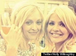 Holly Congratulates Newly-Married Pal Fearne