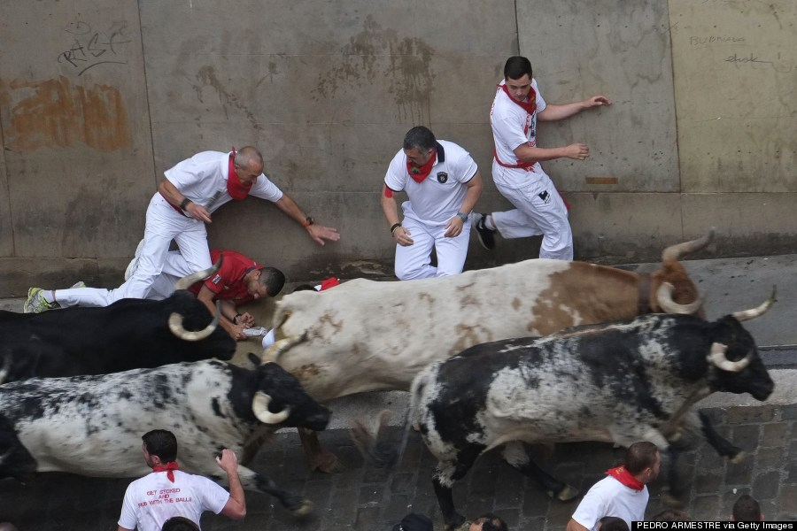 Spanish Bull Run Deaths Spain Bull Run Deaths 2015