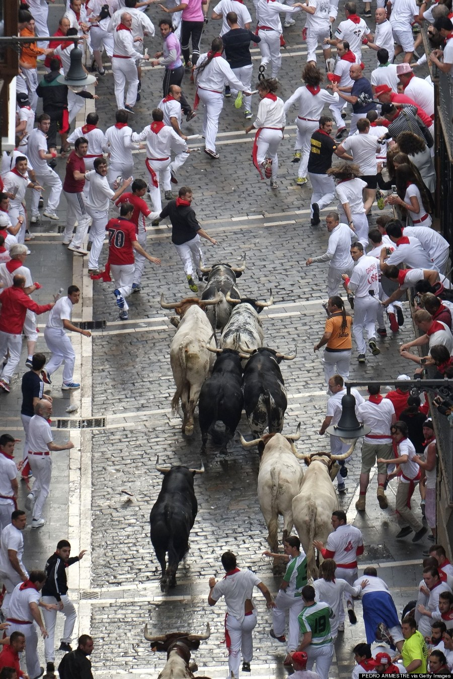 bull run pamplona
