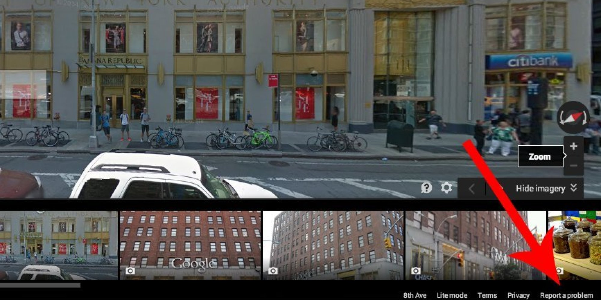How to remove your house from google street view