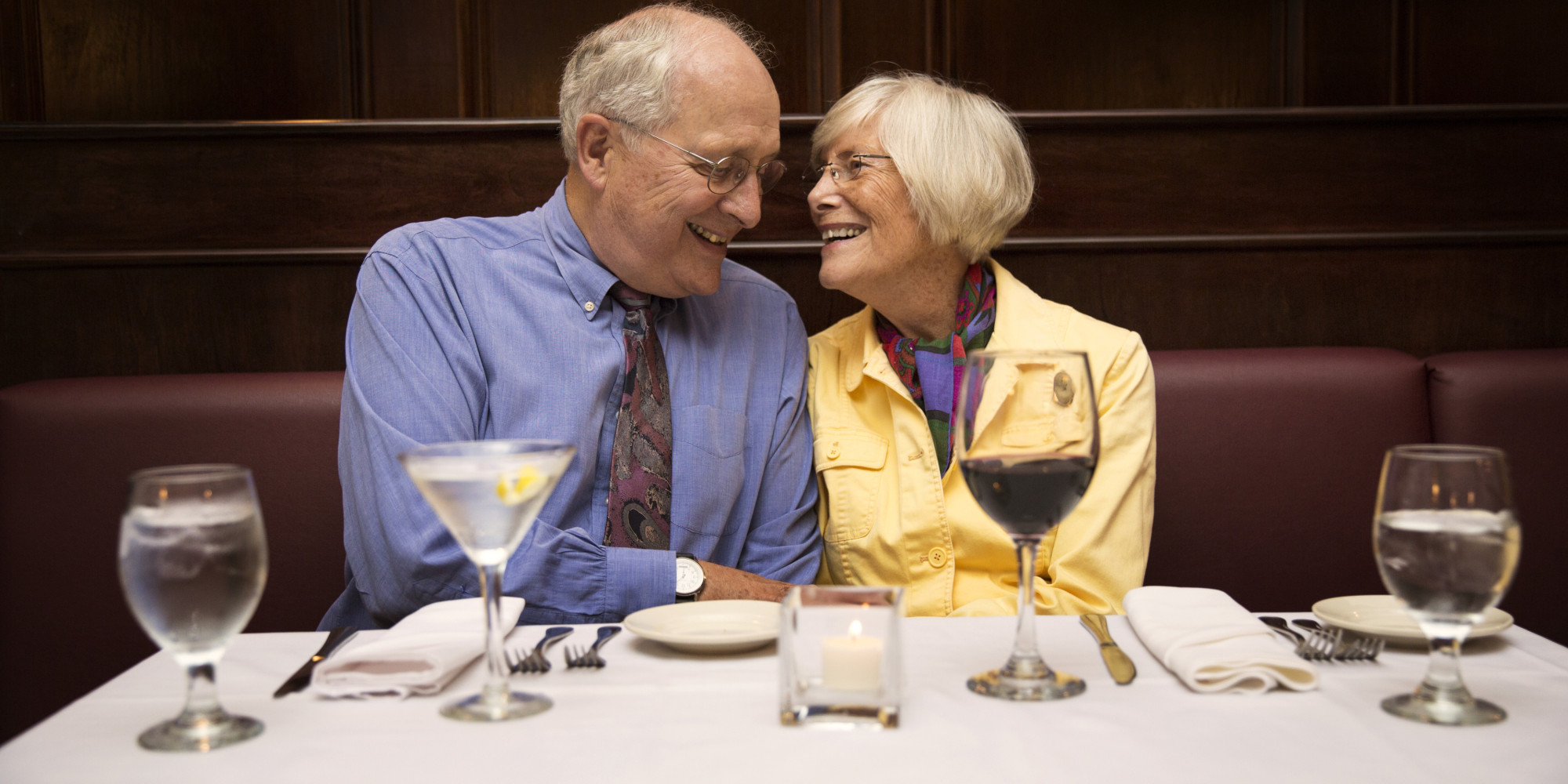 Old people dating