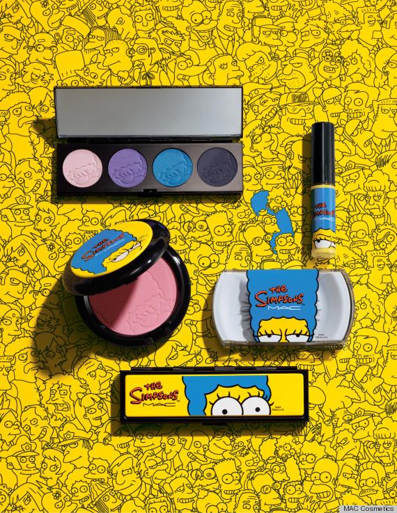 mac simpsons makeup