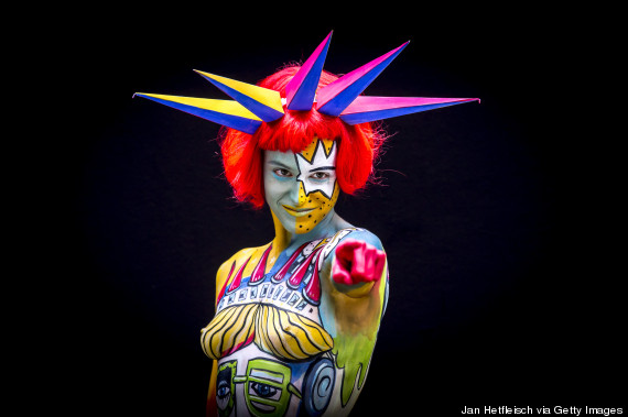 world bodypainting festival