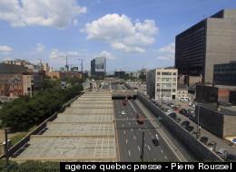 Recouvrement de l'autoroute Ville-Marie : à temps pour le 375e (PHOTOS/VIDÉO)