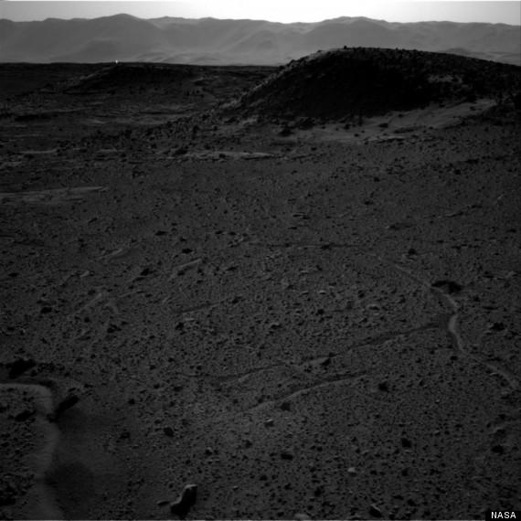 mars bright spot