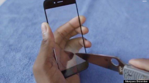 apple sapphire screen