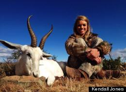 Cheerleader Hunter Has Gory Facebook Hunting Pics Pulled
