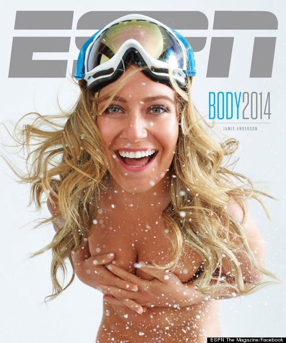 jamie anderson espn body issue
