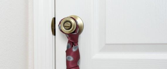 TIE ON THE DOOR KNOB