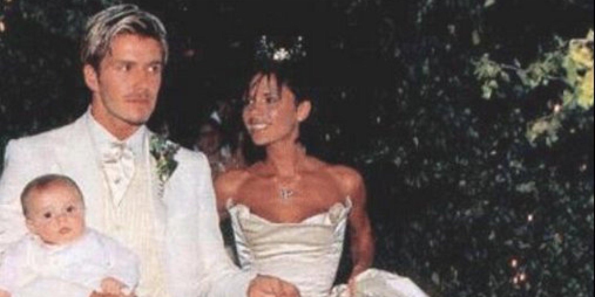 Victoria amp david beckham celebrate wedding anniversary like it s 1999
