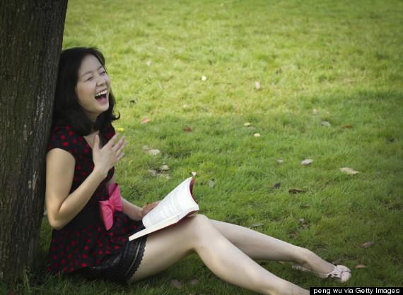 laugh reading books