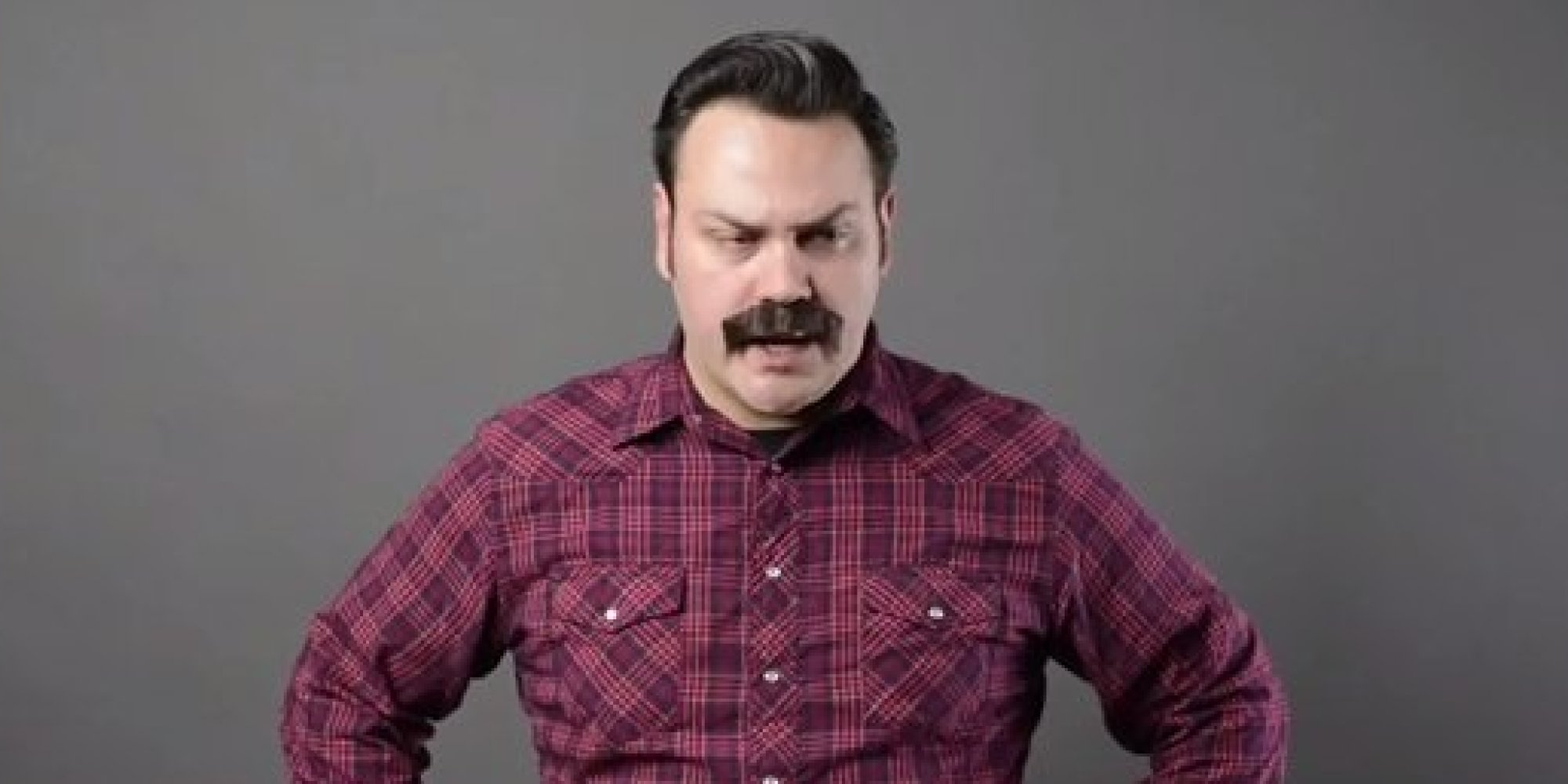 this nick offerman impression is delightful and important huffpost. Black Bedroom Furniture Sets. Home Design Ideas