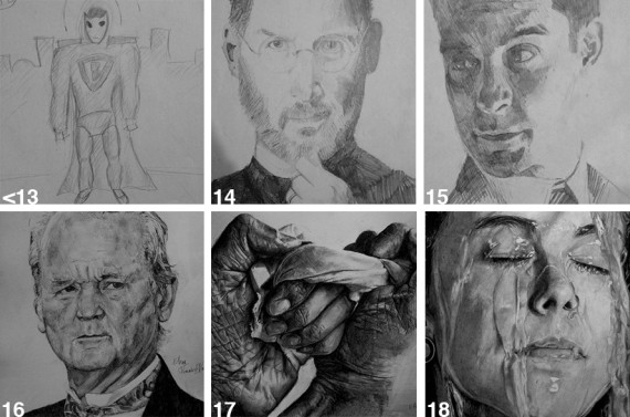 banksied drawing progression