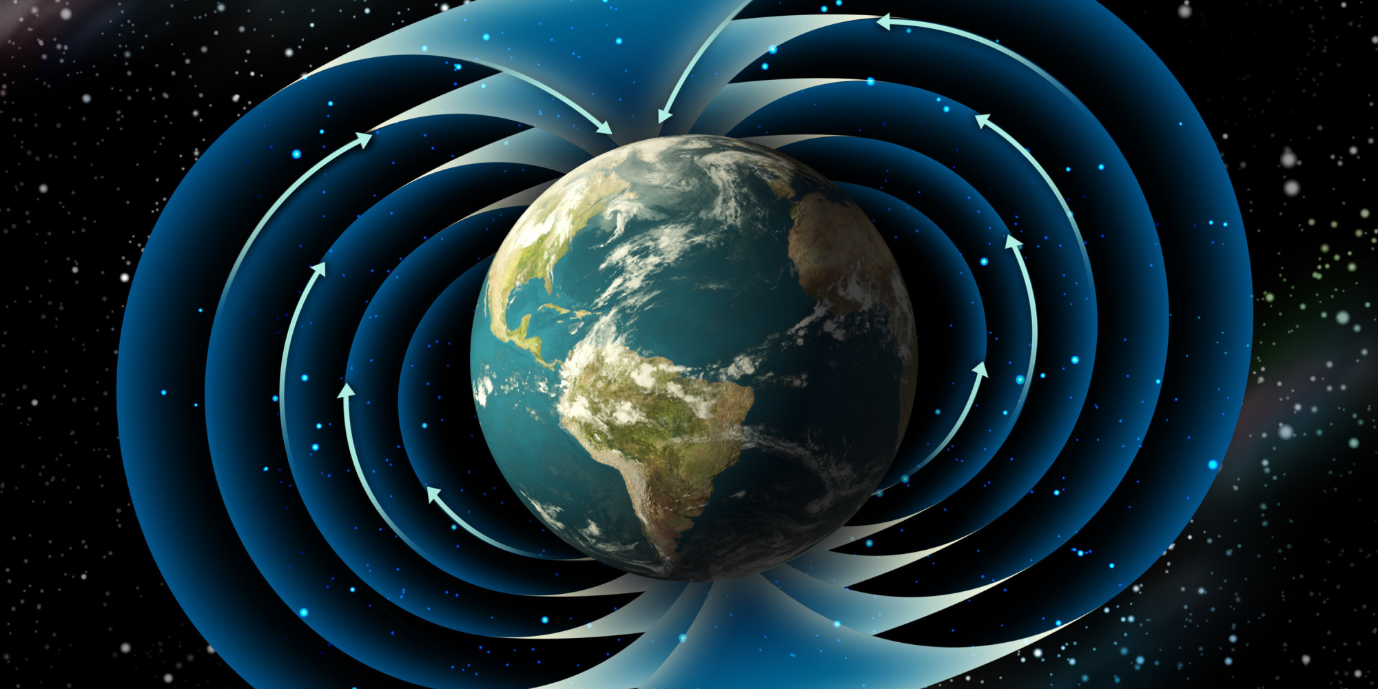 Earth S Protective Forcefield Is Weakening Ten Times