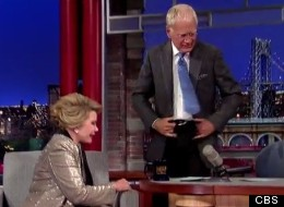 Watch David Letterman Walk Out On Joan Rivers