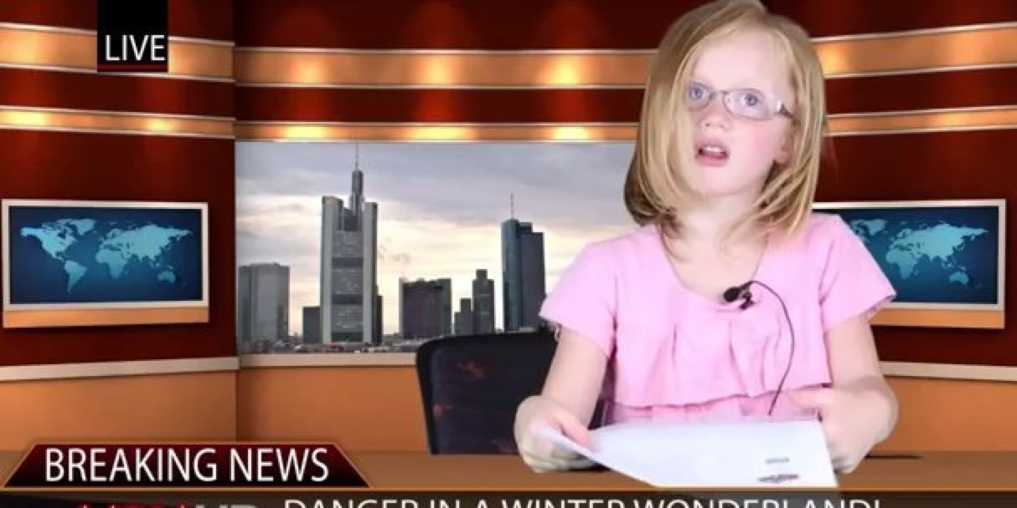 Two Kids Deliver An Unprompted, Unscripted, Hilarious News ...