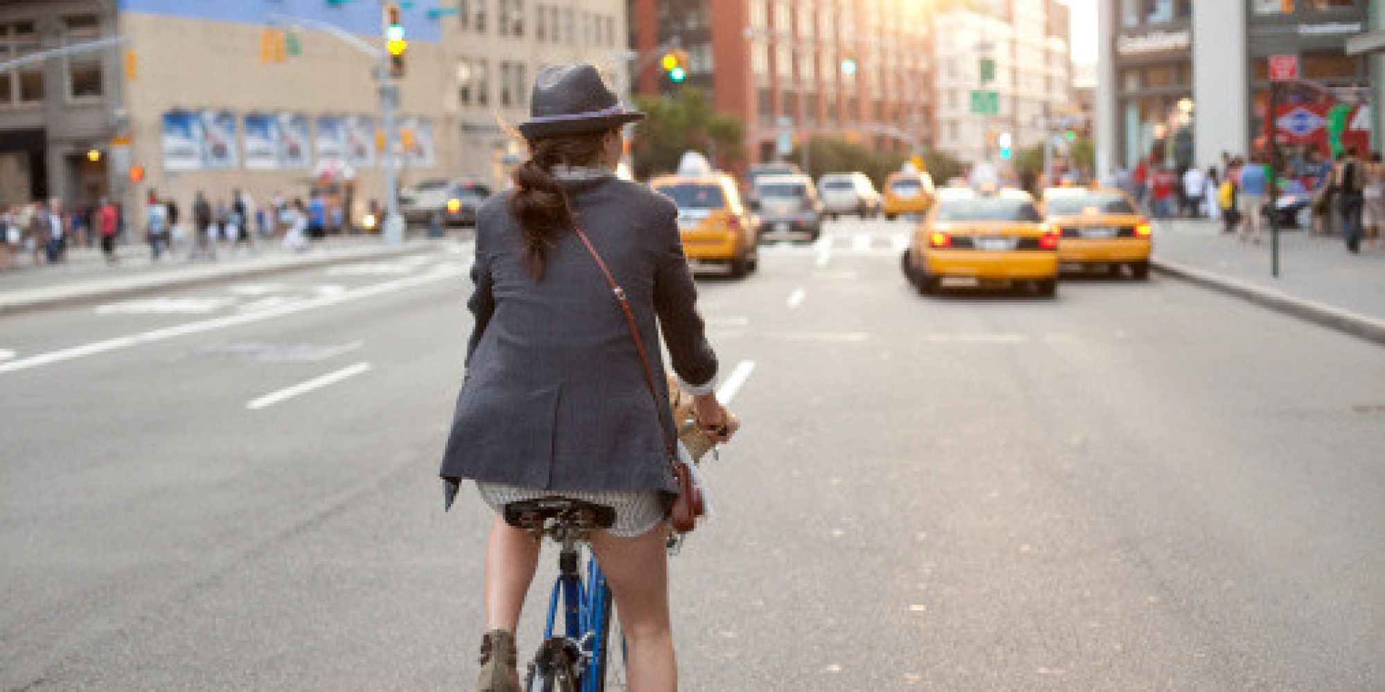 How to Ride a Bike in a Dress