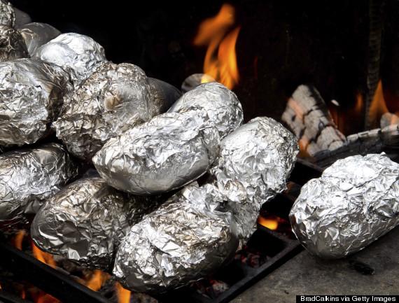 tinfoil campfire