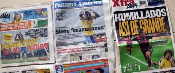 BRAZIL FRONTPAGES