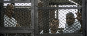 EGYPT JOURNALISTS TRIAL