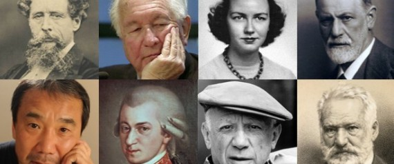 FAMOUS CREATIVE PEOPLE