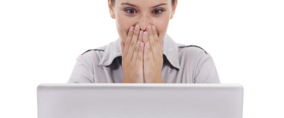 WOMAN SHOCKED INTERNET