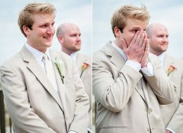 Aww-Worthy Grooms' Reactions Remind Us What Love Looks Like