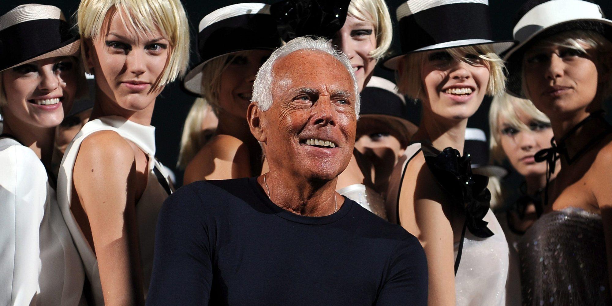 Giorgio armani 80 anni il compleanno del re delle moda for Giorgio armani figli