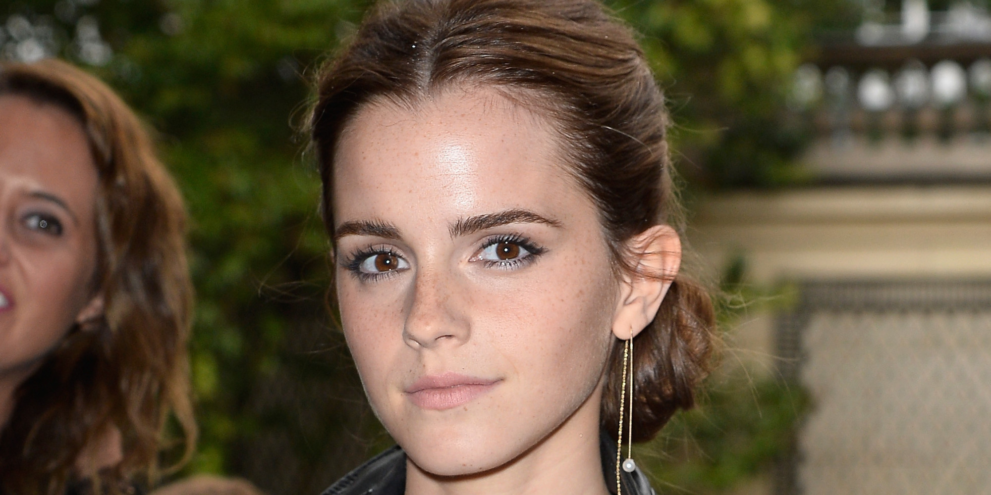 Emma Watson Switches It Up In Racy Bra Top And See Through