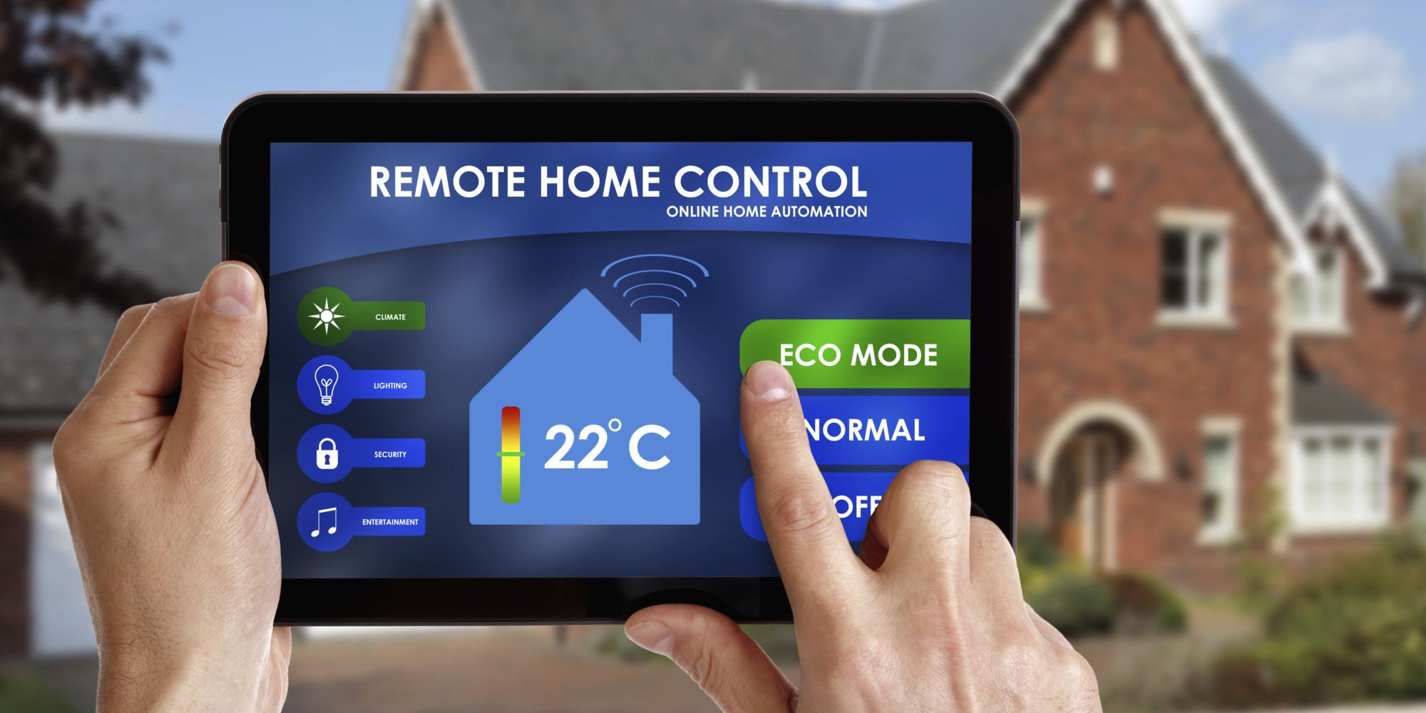 look inside a high tech smart home | huffpost