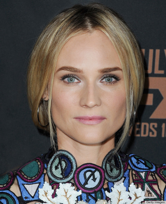 Diane Kruger S Braid Within A Braid Tops Our Best Beauty