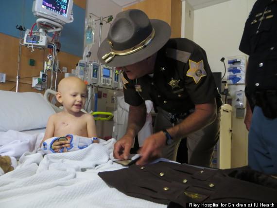 toddler sheriff deputy
