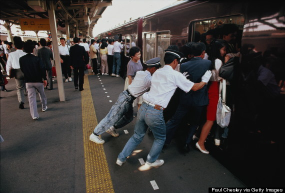 tokyo train push