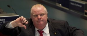 Rob Ford Thumbs Down