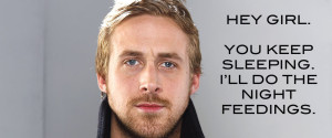 Ryan Gosling Pregnant Hey Girl