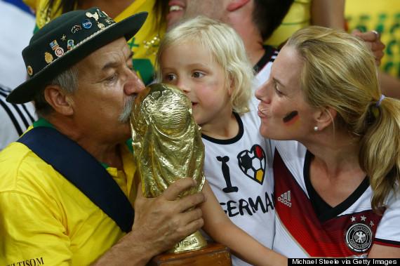 brazil fan trophy