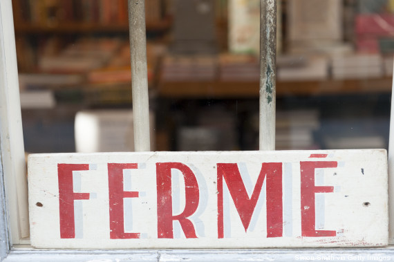 french shop closed