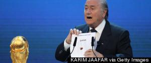 QATAR WORLD CUP BLATTER