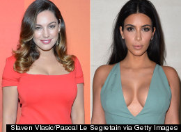 Kelly Brook Follows In Kim K's Footsteps