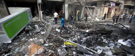 DESTRUCTION GAZA