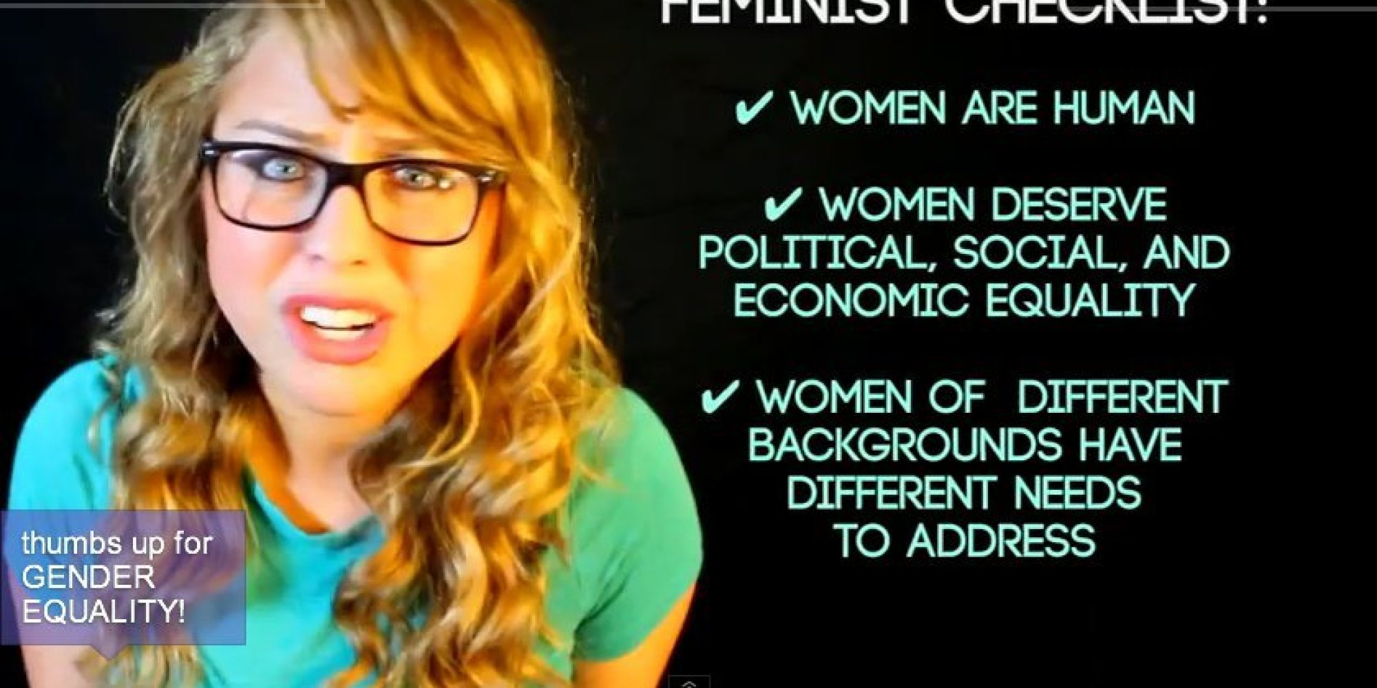 The 3 Biggest Myths About Feminism, Busted | HuffPost