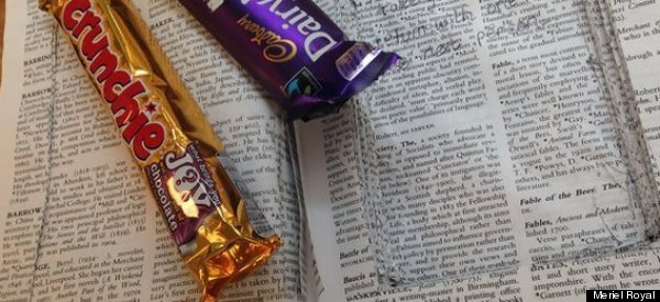 Cambridge Students Hide Chocolate In A Library Book To Help With Revision Stress