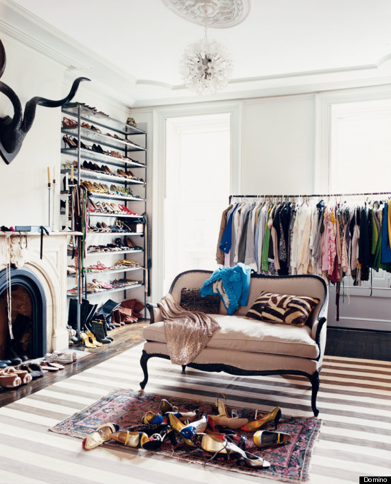 6 ways to store your stuff when there 39 s not enough closet Rooms without closets creative