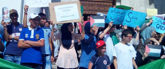 Palestine manifestation soutien