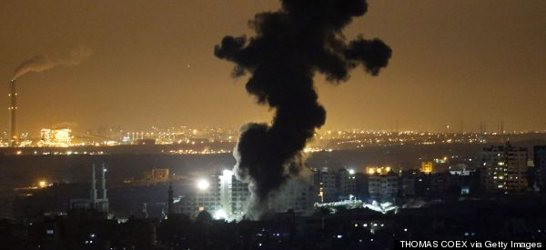 Israel Widens Gaza Bombing Targets, Deploys Ground Troops