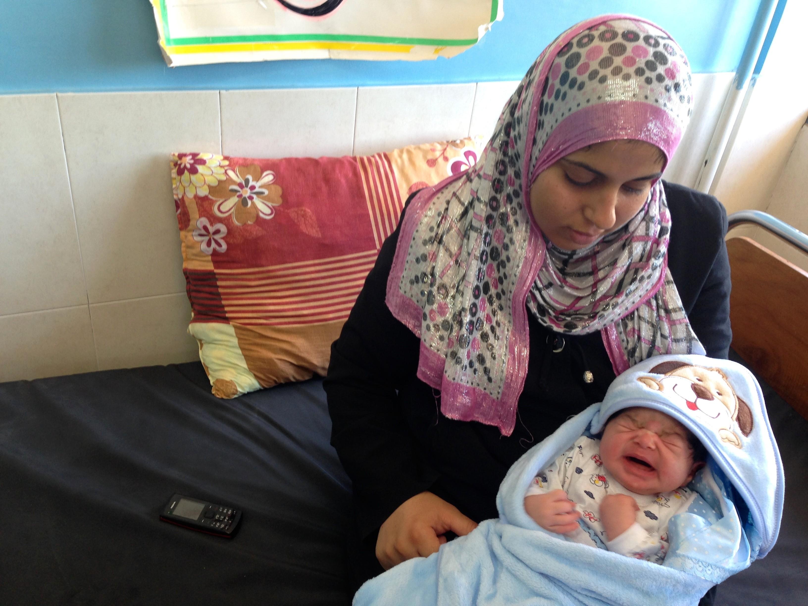 gaza mother