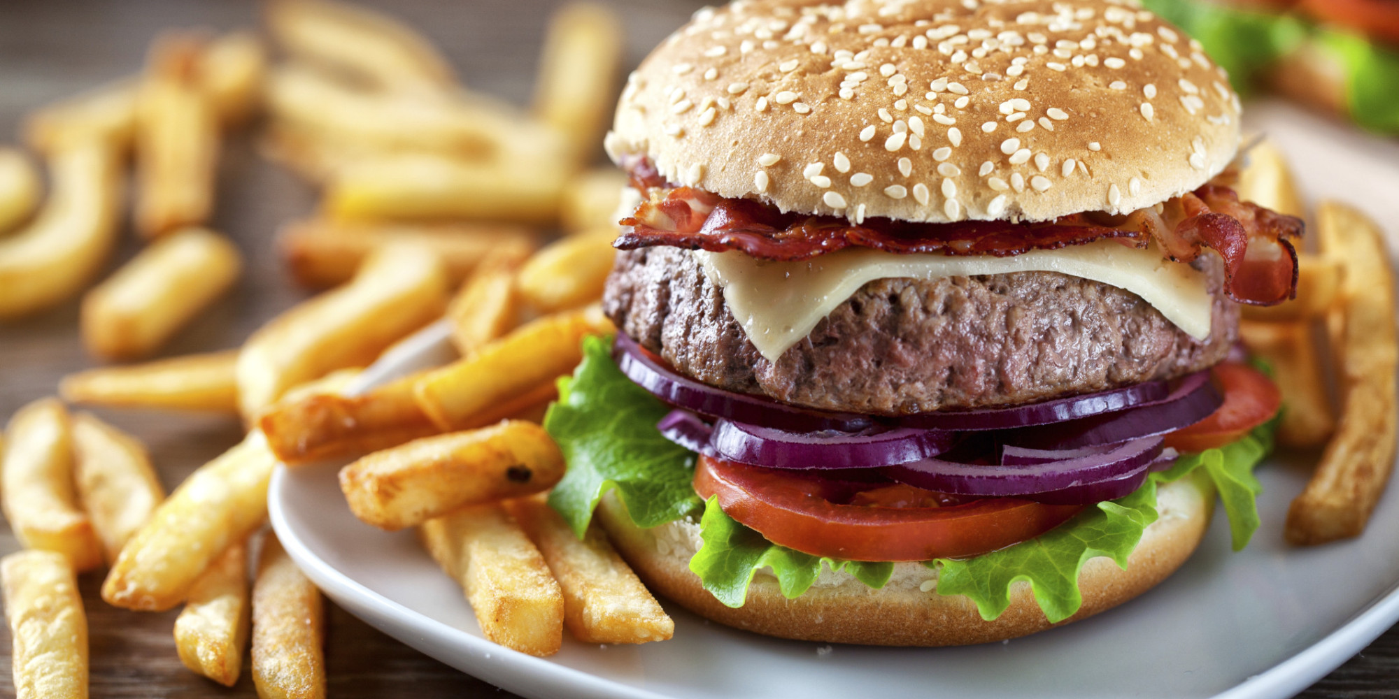 Why Eating A Burger And Fries After A Stressful Day Can Be A Bad Thing ...