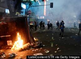 Mondial 2014: des émeutes suivent la défaite en finale pour l'Argentine (PHOTOS)